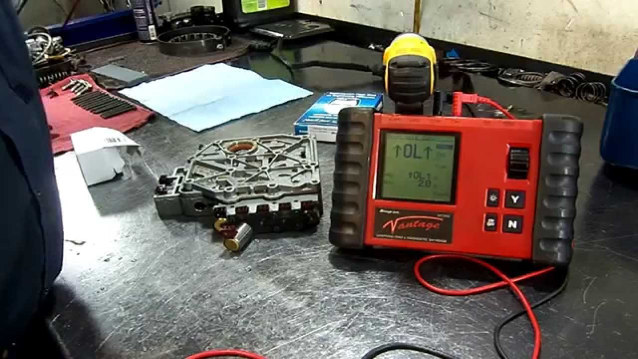 small resolution of vw 01m transmission solenoid valve 4 n91 open circuit valve body repair youtube
