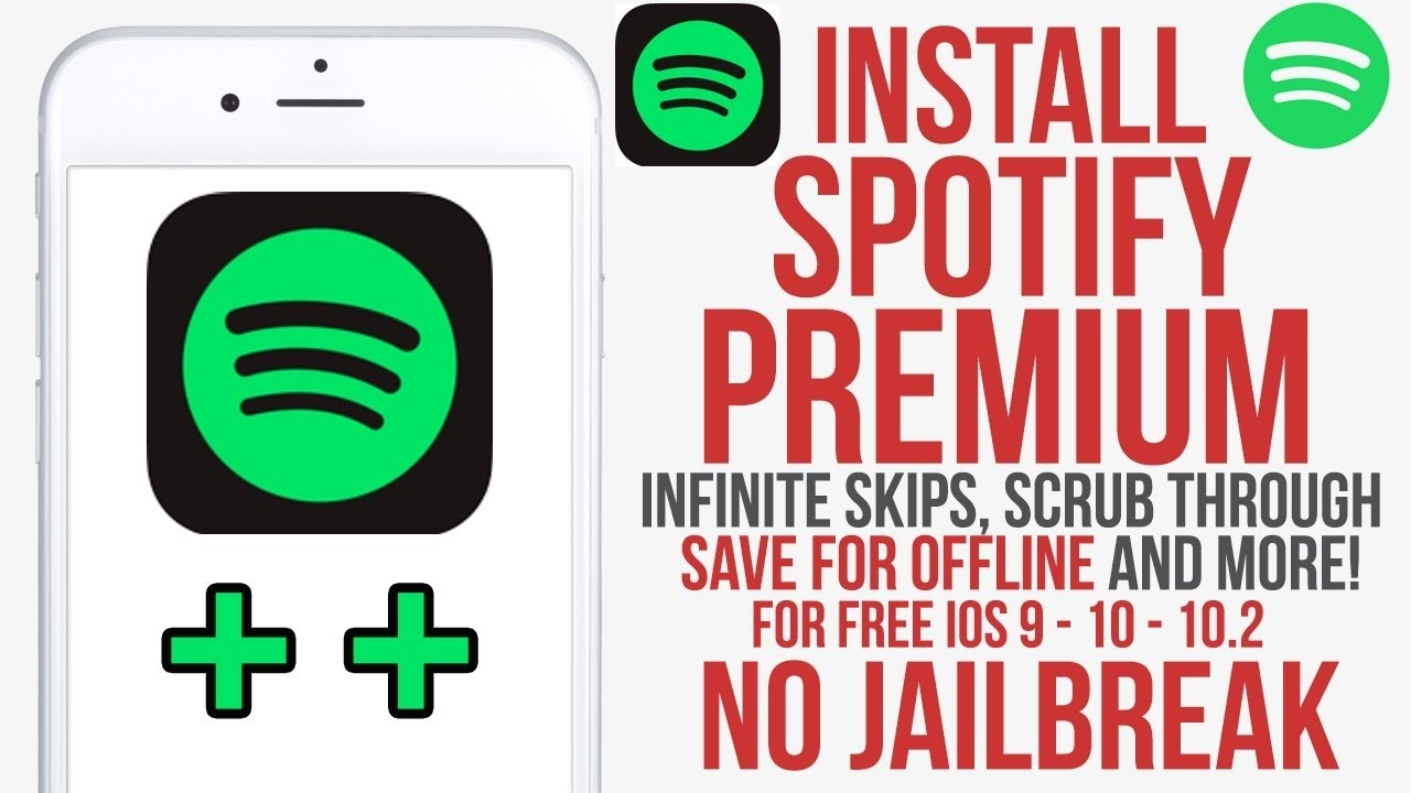 How to install Spotify ++ Free iOS 9 3 - 10 3