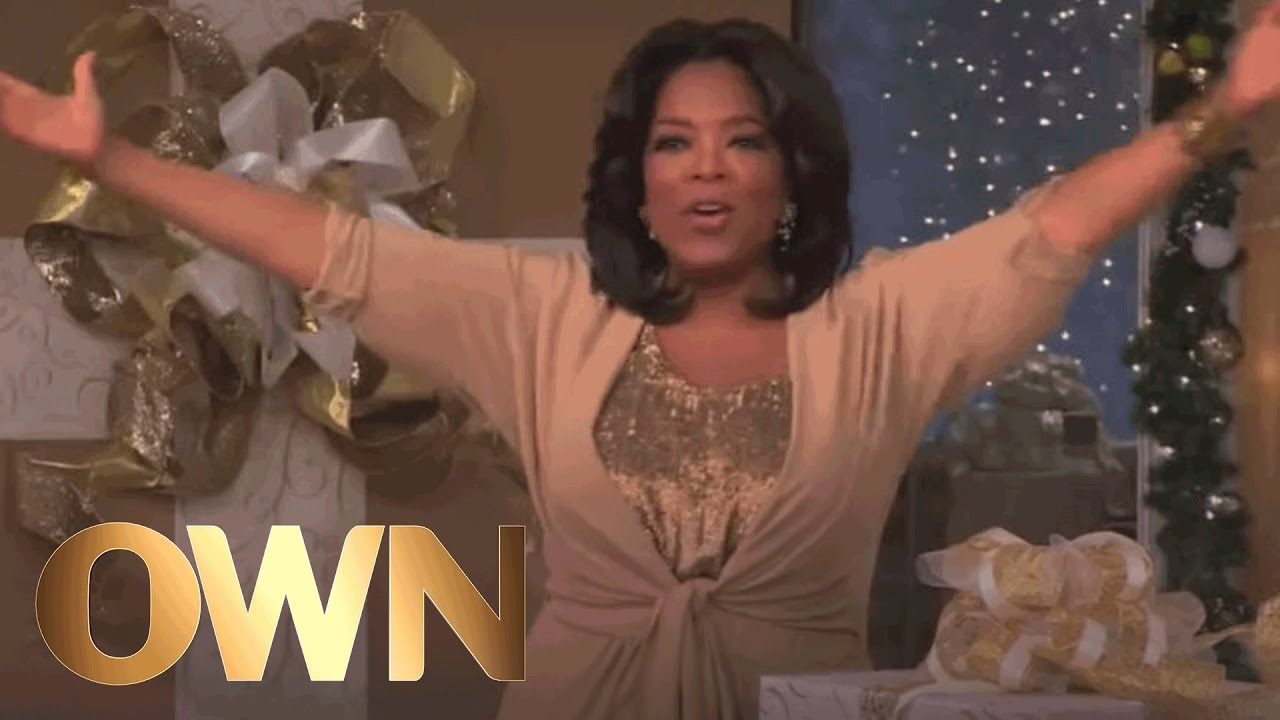 Oprah reveals biggest holiday gift guide yet