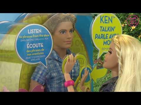 Мультфильм с куклами. Приключения Барби и Кена. Игрушки для девочек ♥ Barbie Style Ken Doll Toys