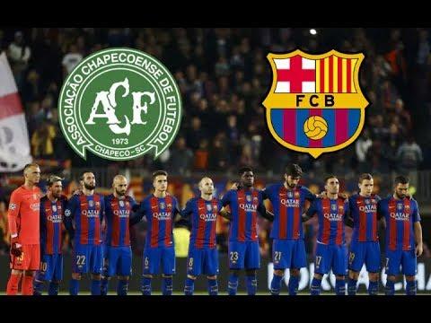 LIVE FC BARCELONA - CHAPECOENSE MONDAY 07 AUGUST 2017  COUNTDOWN