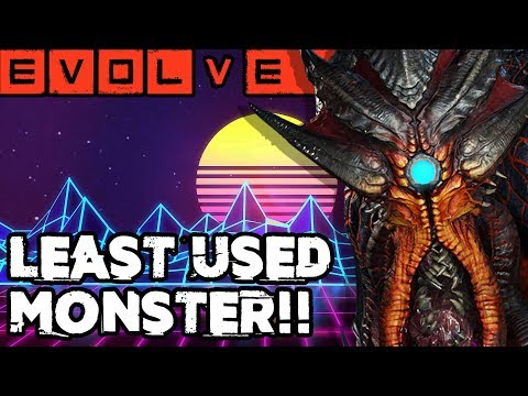 EVOLVE - LEAST USED MONSTER!! Evolve Gameplay Stage Two