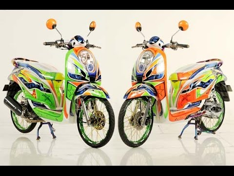 Kumpulan Modifikasi Motor Matic Indonesia  YouTube