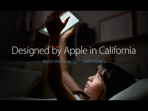 New Apple Advertisement - Summer 2013 - Designed By Apple in California (Intention)