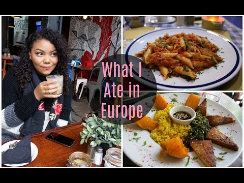 HOW TO TRAVEL AS A VEGAN | What I Ate in Europe