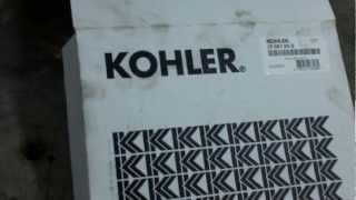 KOHLER COURAGE AIR FILTER DESIGN CHANGE