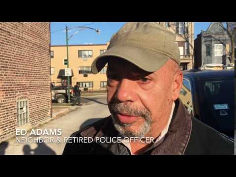 Ed Adams, retired police officer, discusses fatal fire