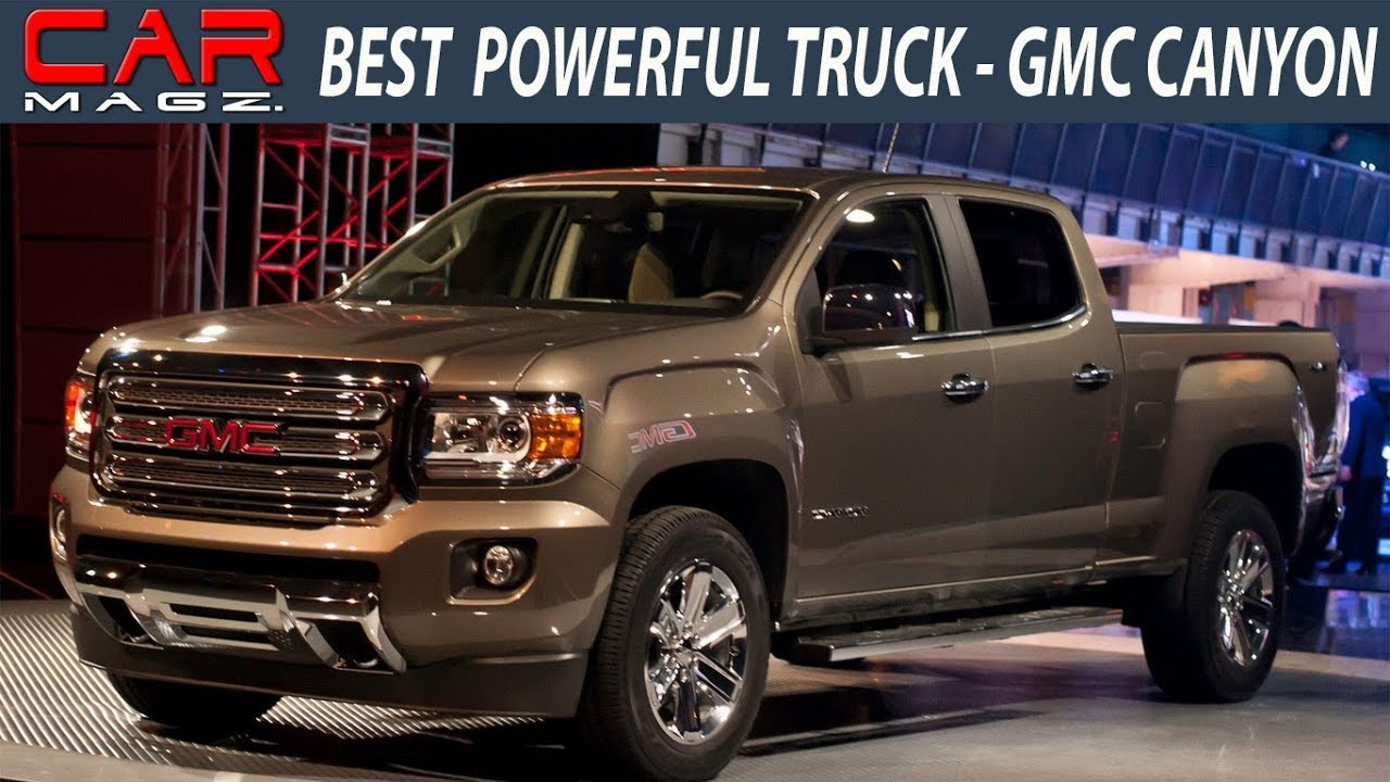 2018 GMC Canyon Denali Diesel Review - YouTube