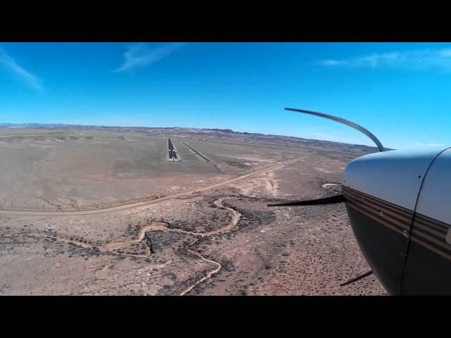 Utah Airstrips - Landing Canyonlands RW3