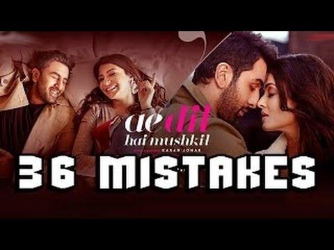40 Mistake Of Ae Dil Hai Mushkil Movie -...