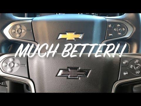 2010-2019 Chevy Steering Wheel Bowtie