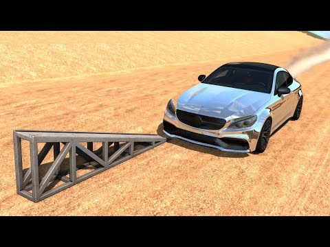 High Speed Flip Ramp Crashes #12 - BeamNG Drive