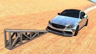 High Speed Flip Ramp Crashes #12 - BeamNG Drive