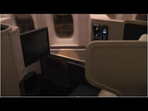 (LONG VERSION) Cathay Pacific CX271 Boeing B777-300 Business Class Hong Kong (HKG) - Amsterdam (AMS)