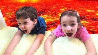 THE FLOOR IS LAVA! Lava Monster!