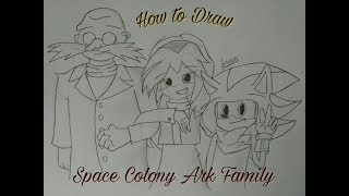 How To Draw: Space Colony Ark Family by Royal Artz