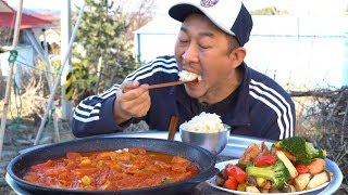 ENG] 김치찌개와 쏘야볶음???????? ???? 먹방 Mukbang eating show(Kimchi stewu0026Stir-fried sausage and vegetables)