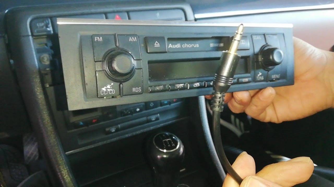 Chorus Audi Concert Beta ADAPTATEUR AUX autoradio pour VW p.e VW Delta