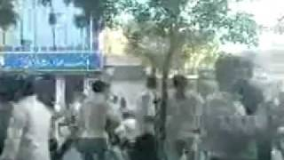 Iran 27 Aug. 2011 - People of Urmia clashes fiercely with Regime forces