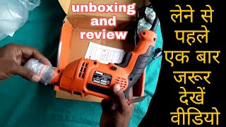 Black & Decker Hammer Drill Machine Review In Hindi - By Electro Technic