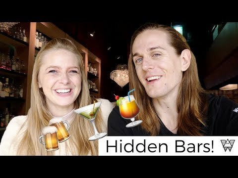 Melbourne Nightlife! -🍸Secret Bars Of Melbourne Australia