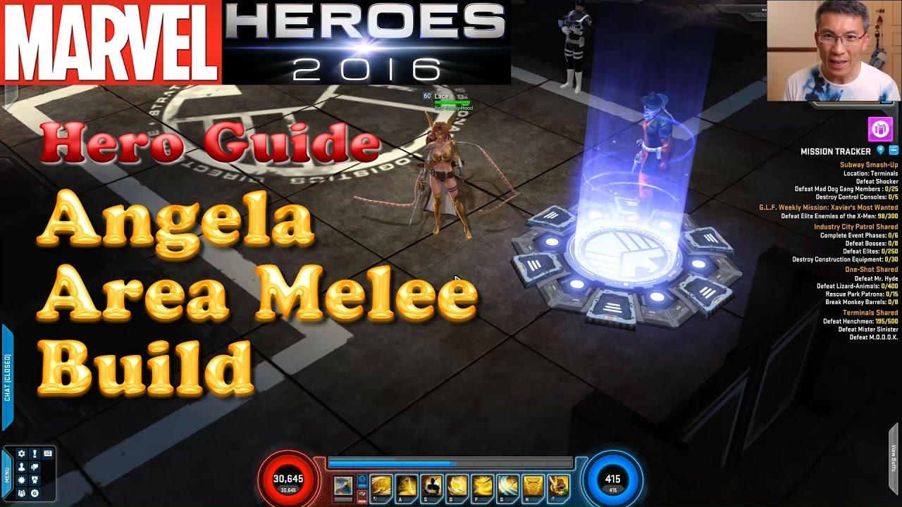 Build Angela Marvel Heroes