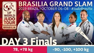 Judo Grand-Slam Brasilia 2019: Day 3 Final Block