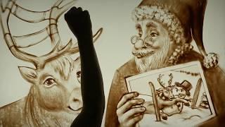 DISEGNI CON LA SABBIA | Merry Christmas | SAND ART