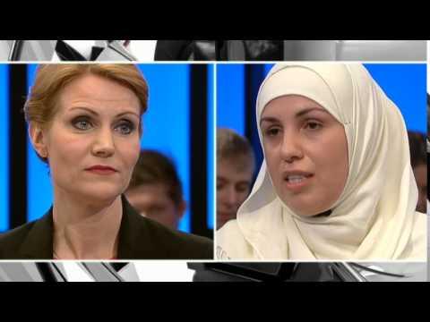 Helle Thorning i 2010: Tørklæder er fremmed for dansk kultur - DR2 Debatten