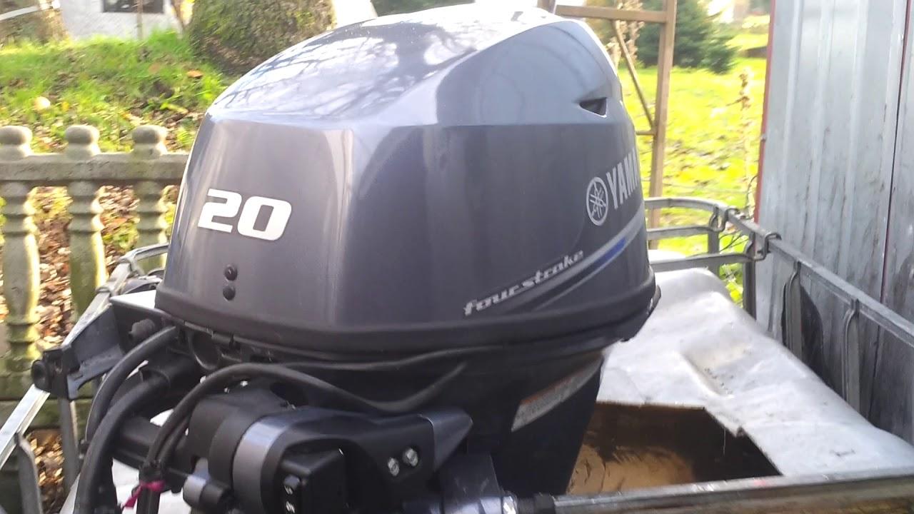 2016 Yamaha F20 hp outboard motor 4-stroke TRIM ( 4-SUW )