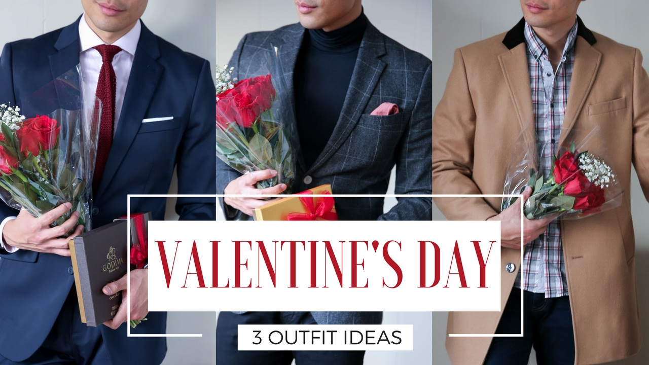 Valentines Day 3 Mens Outfit Ideas Youtube