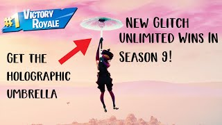*New* FORTNITE UNLIMITED WINS GLITCH! Get the Season 10 Umbrella FOR FREE!