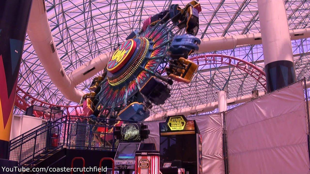 Chaos Off Ride Hd Adventuredome At Circus Circus Las