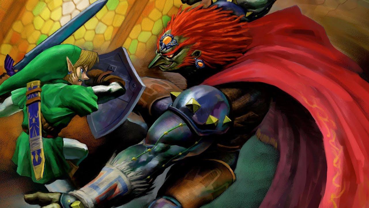 The Legend Of Zelda Ocarina Of Time N64 Final Battle Ending