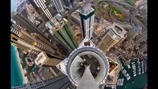 Daredevil captures selfies and Dubai from above...  Сорвиголова захватывает selfies и Дубай сверху