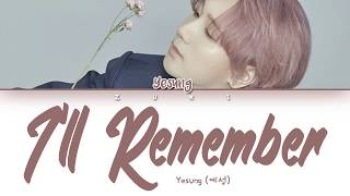 (◕ᴗ◕✿) open me! ━ song : i'll remember album pink magic artist yesung released date 2019.18.06 ♥ sorry for any mistakes ~ official music video ...