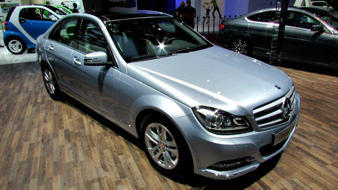 2012 mercedes benz c220 tdi blue efficiency exterior interior walkaround 2012 paris auto. Black Bedroom Furniture Sets. Home Design Ideas