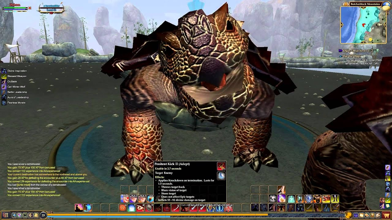 EverQuest 2 - ButcherBlock - Talvrae T'Zyth - For the Dogs - Level 24
