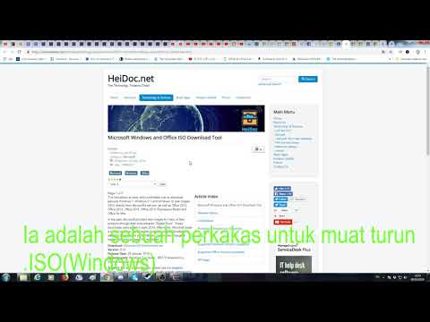 How to Download Windows 7 ISO Without Product Key (Malay SUB)