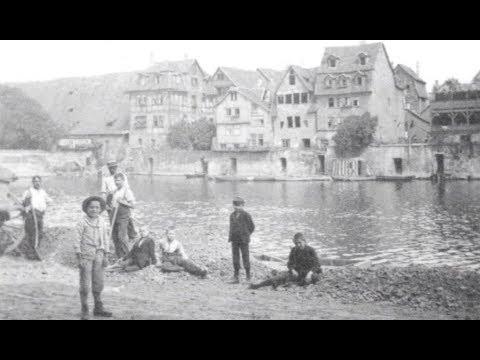 Kassel im Jahr 1906: Alte Bilder im Video - historischer Stadtrundgang
