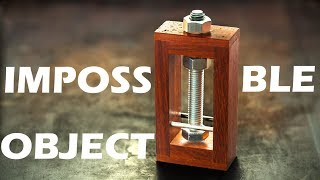 The impossible bolt puzzle. Not so impossible, if you know the trick.