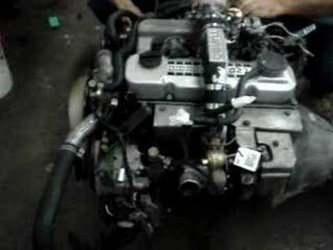 Nissan Used Diesel Engine Td27 Turbo Youtube
