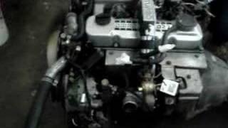 NISSAN USED DIESEL ENGINE TD27 TURBO