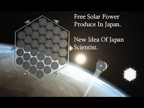 New Technology in Japan Free Solar Power 2017