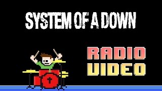 System of a Down - Radio/Video (Drum & Vocal Cover) -- The8BitDrummer feat. Homyk