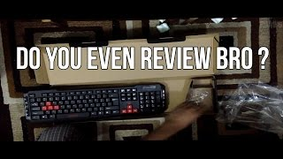 viotek wireless gaming keyboard mouse combo unboxing and review