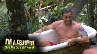 Jamie Bathes With His Heros | I'm A Celebrity...Get Me Out Of Here!