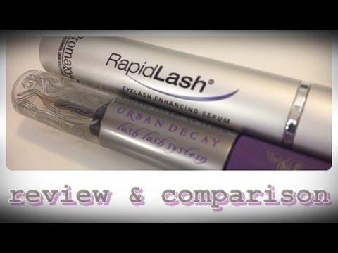 f64eecb9dc9 REVIEW: Rapidlash VS Urban Decay Lush Lash - YouTube
