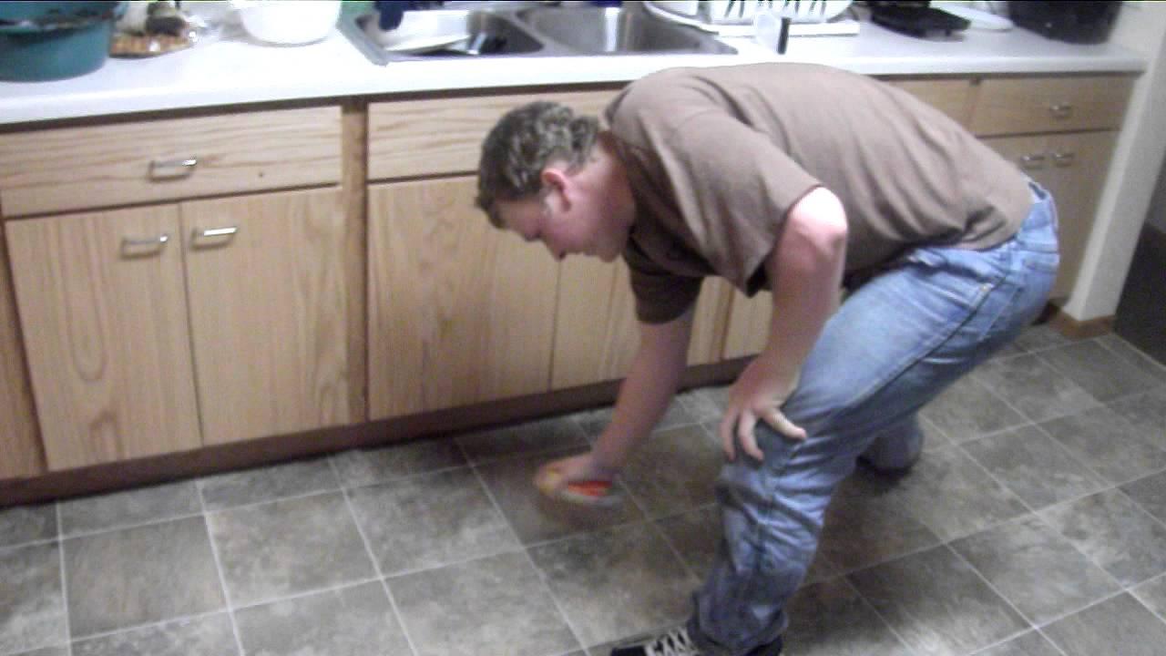 Pam On Floor U003d Bad