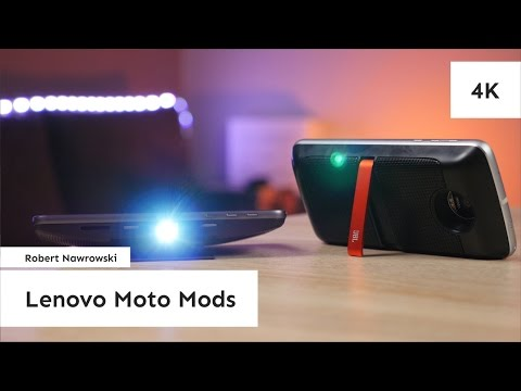 Lenovo Moto Mods - moduły na każdy dzień do Lenovo Moto Z i Lenovo Moto Z Play | Robert Nawrowski